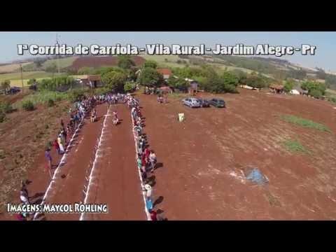 1ª Corrida de Carriola - Vila Rural - Jardim Alegre - Pr