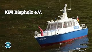 RC SCALE MODEL BOATS - IGM Diepholz 2016