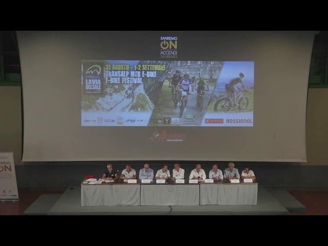 Sanremo On e Limone On presentano Transalp MTB - E-Bike e HAT