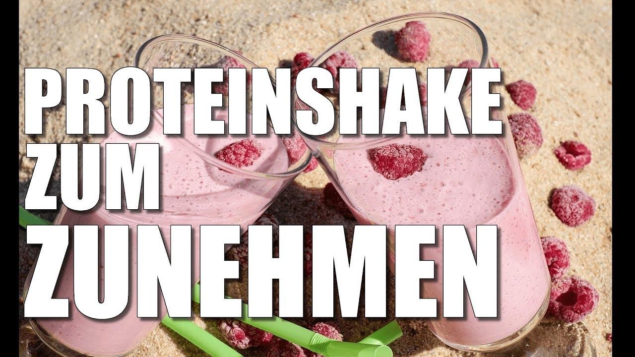 Wann man Protein-Shake zur Gewichtszunahme trinkt