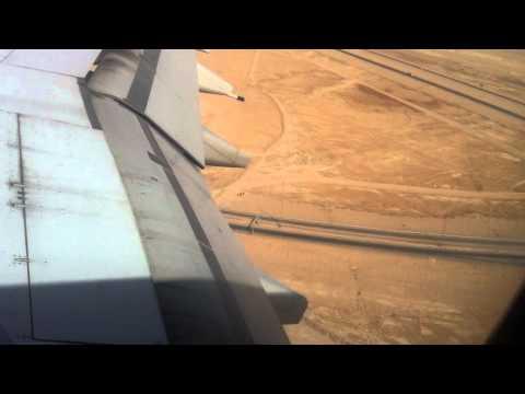 Basra International airport, Emirate airlines Landing