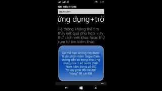 Hướng dẫn cài đặt SuperCam trên Windows Phone ( Lumia )