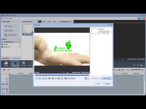 Trimming Video Using AVS4You Editor