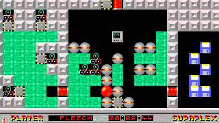 Supaplex: Original Levels: Level 78: Transport It!