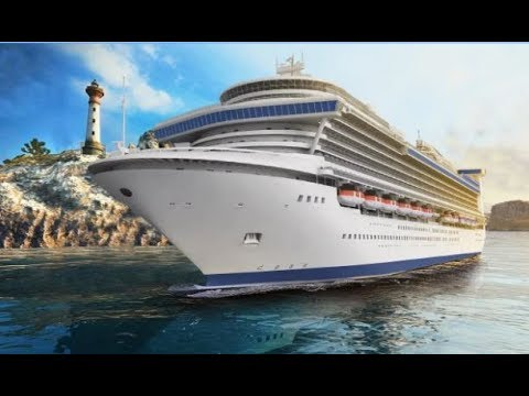 Big Cruise Ship Games Passenger Cargo Simulator - Android Gameplay