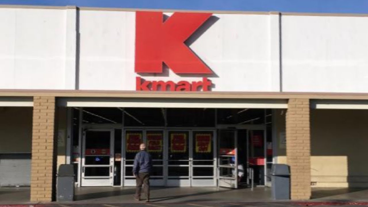 Visiting Kmart In 2017 - YouTube