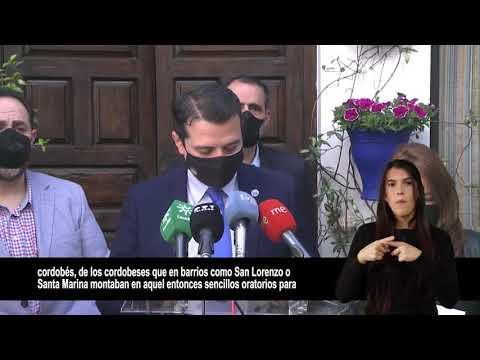 Córdoba recupera tras más de un siglo la tradición de abrir los patios el Jueves Santo con altares