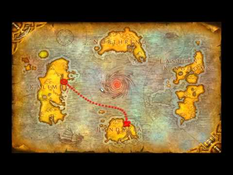Orgrimmar To Pandaria: Quest (No Portal) (World Of Warcraft) Flying