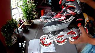 Cosco Sprint Roller Skates Unboxing