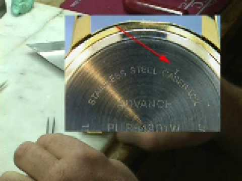 Relic watch battery size heart impulsar co