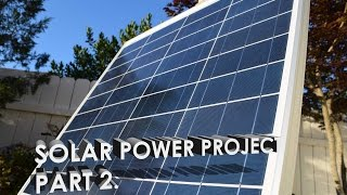 Solar Powered Server Project: Trial System Part 2