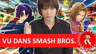 Super Smash bros devient-il un panneau publicitaire géant ?