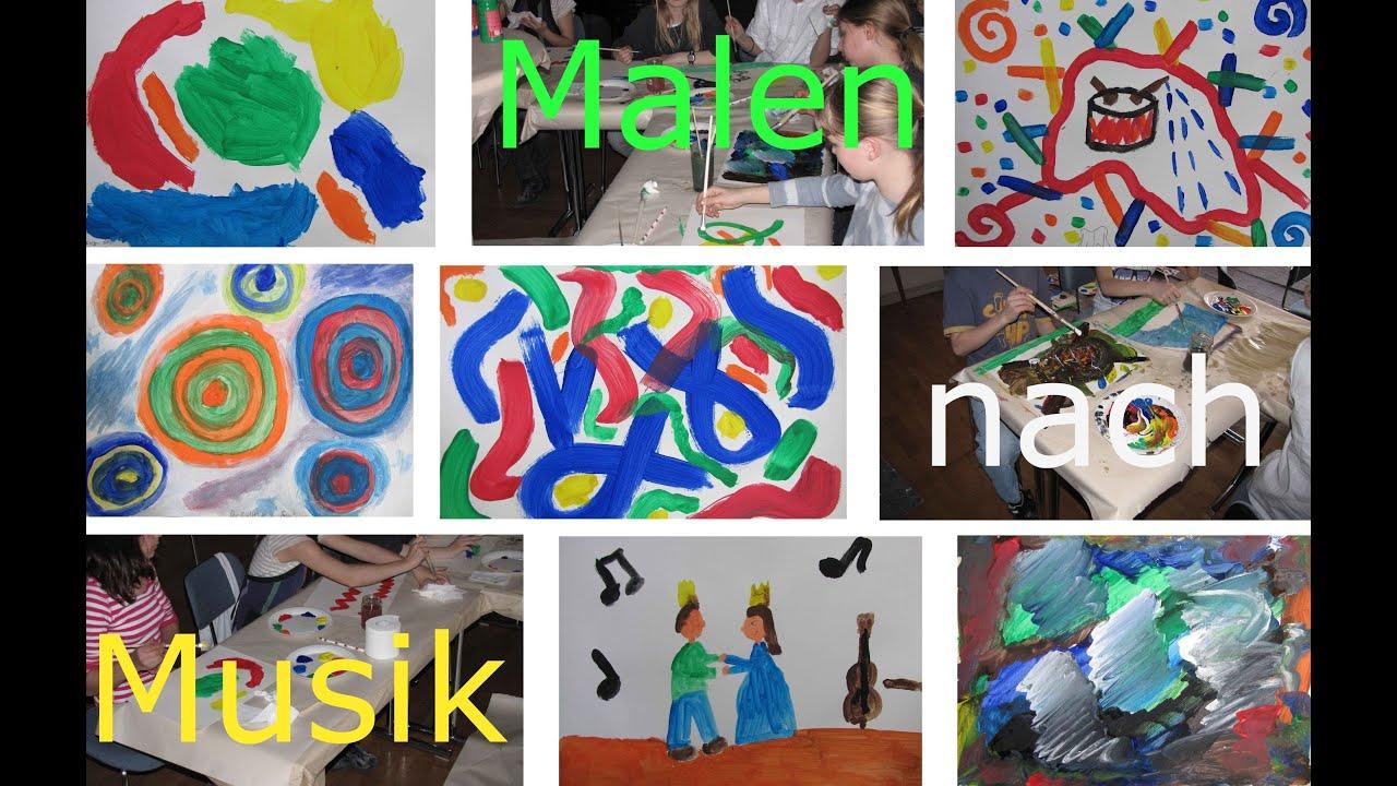 malen nach musik workshop f r kinder musikschule waldenbuch music and art paint by music. Black Bedroom Furniture Sets. Home Design Ideas