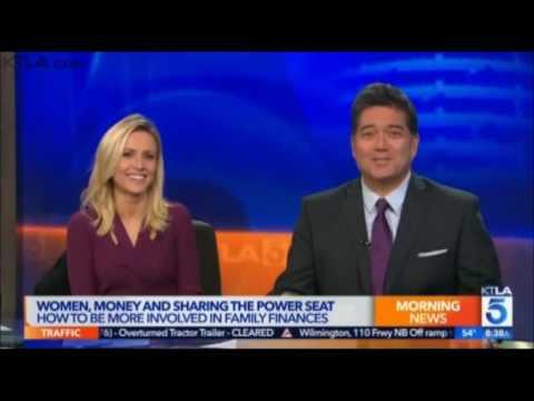 Women Money and Sharing the Power Seat KTLA News Los Angeles