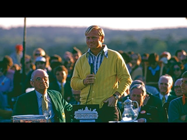 1972 Masters Tournament Final Round Broadcast