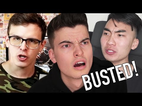 Thumbnail: IDUBBBZ VS RICEGUM - Content Cop, Response and Diss Track (TWOTI)
