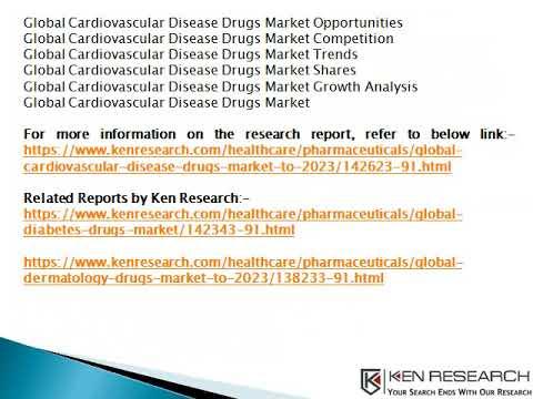 Global Cardiovascular Disease Drugs Market Size, Market Revenue, Market Forecast- Ken Research