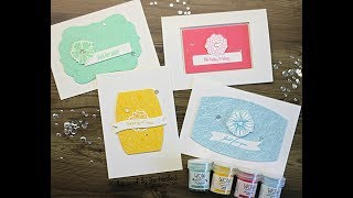 WOW Embossing Powder: Floral Cardset