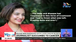 K24 News anchor Anjlee Gahdvi dies after battle with cancer