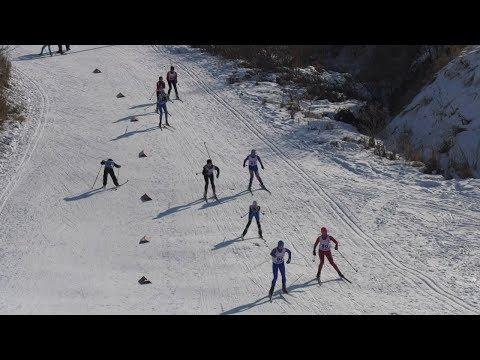 Спортивный праздник организовала компания «Курьер Плюс» на лыжной базе в Далматово