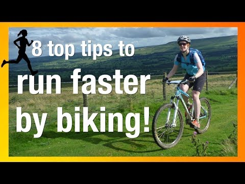 Run faster by cycling! (8 top tips from a running champion!)