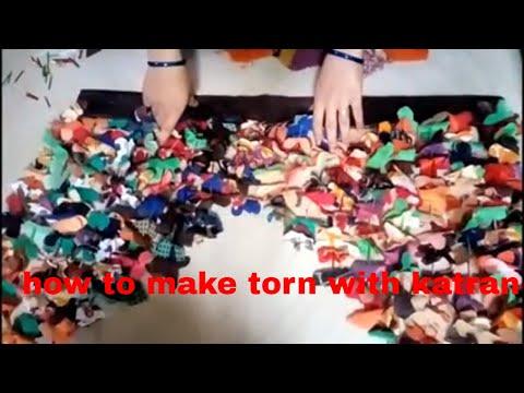 कपडे की बची हुई कतरन से झालर कैसे बनाये How To Make Toran