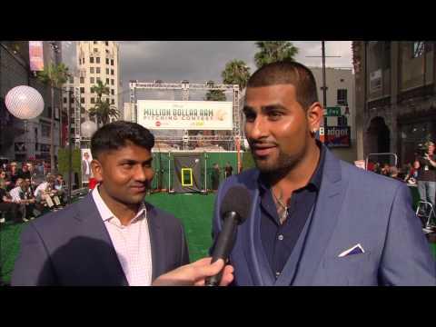 Million Dollar Arm: Dinesh Patel & Rinku Singh Movie Premiere Interview