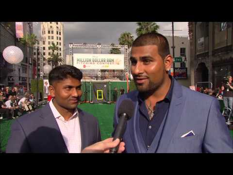 Million Dollar Arm: Dinesh Patel & Rinku Singh Movie Premiere Interview