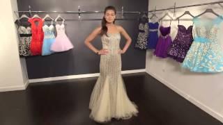 Beaded Sexy Mermaid Dress 79227 | Jovani