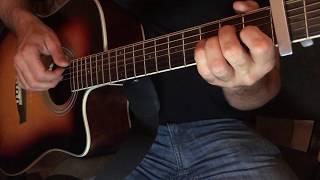 Зелёные Рукава (Greensleeves). Гитара