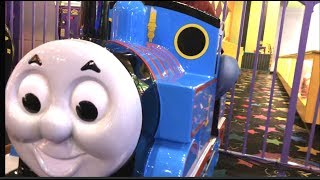 2 Different Thomas and Friends Trains Disney Plane Dusty