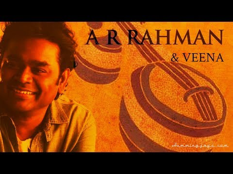Veena & A.R.Rahman (Indian String Musical Instrument)