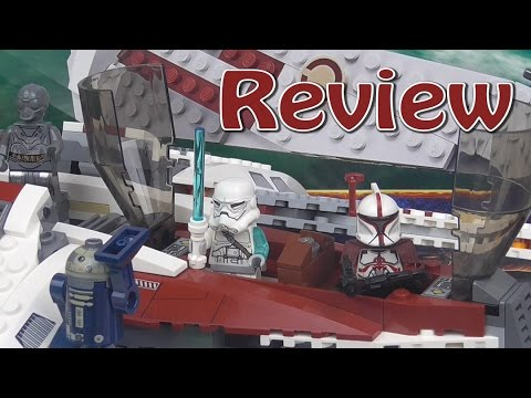Lego Star Wars: Jedi Scout Fighter Review 75051