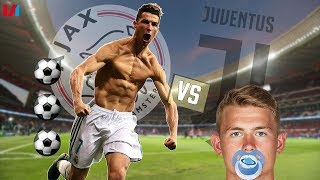 'Matthijs De Ligt Was 11 Toen Cristiano Ronaldo al Hattricks Scoorde!'