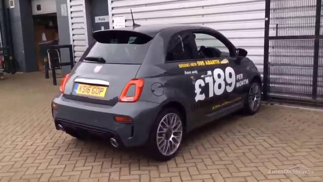 Abarth Fiat 500 595 Grey 2016 Youtube