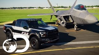 F22 Fighter Jet Inspired Truck | Twin Turbos