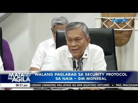 MIAA, naglabas ng bagong CCTV footage sa insidente na kinasangkutan ni Rep. Bertiz