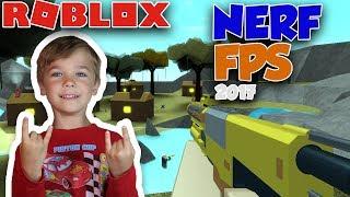 NERF WARS in ROBLOX | NERF FPS 2017 BETA | NERF GUNS