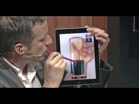 iPad Zauberer Simon Pierro Liveauftritt [subtitled]