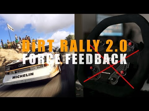 DiRT Rally 2.0 Steering Wheel Force Feedback (FFB) Issue Explained | A Tribe Called Cars