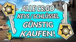Günstige CS:GO Keys kaufen! Spare hier beim Kauf von Kisten schlüssel! #csgotipps