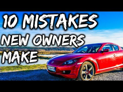 10 Mistakes New Mazda Rx8 Owners Make