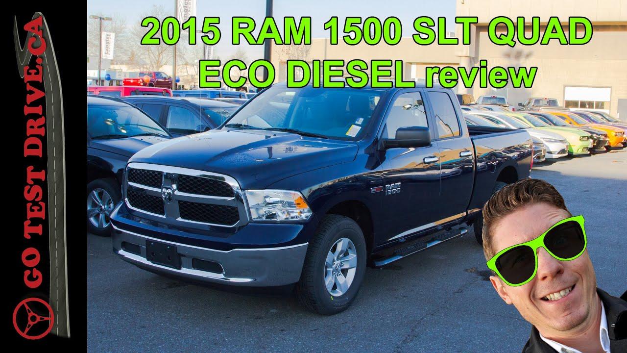 2015 ram 1500 slt eco diesel review doovi. Black Bedroom Furniture Sets. Home Design Ideas