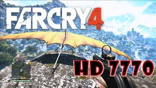 [VTX3D HD 7770] FarCry 4 - Glider & GyroCopter [High Settings]