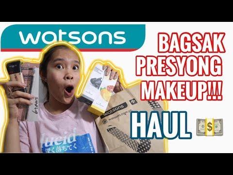 SALE SA WATSONS!!! HAUL ULIT HEHE + MY SKINCARE PRODUCTS | PHILIPPINES