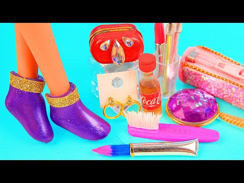 11 DIY Barbie Hacks and Crafts ~ Barbie Shoes