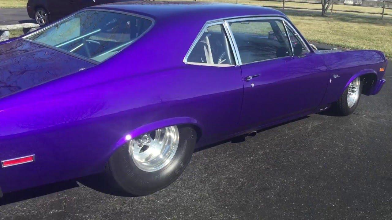 1972 Ss Pro Street Chevy Nova Youtube