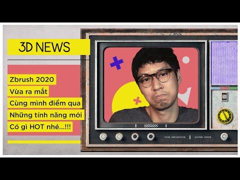 3D News - Zbrush 2020 Có Tính Năng Gì Hot?