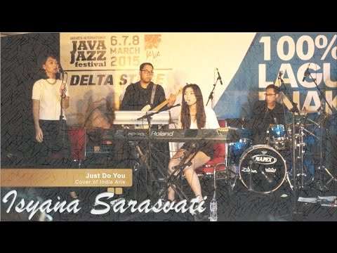 [LIVE CONCERT] Isyana Sarasvati  (ft. Rara Sekar) - Just Do You #JJF2015