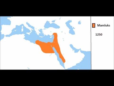 Rise and Fall Mamluk Empire[MAP]